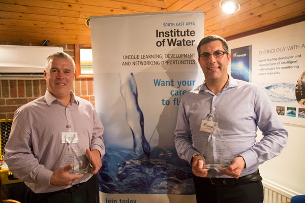 Engineering Director Adrian Watkins Hydroco Ltd (left) and our Sales Director Kevin Brook (right)